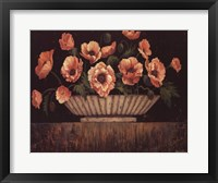 Framed Elegant Poppies - mini