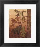 Framed Oak Leaves - Mini