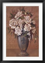 Framed Courtly Roses I