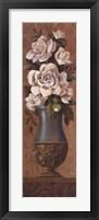 Courtly Roses II Framed Print