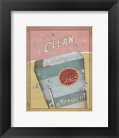 Clean Framed Print