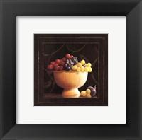 Framed Frutta del Pranzo II - petite