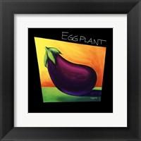 Framed Eggplant - mini