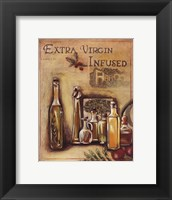 Framed Olive Oil I