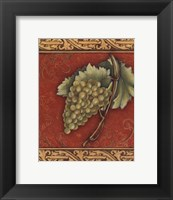 Grape Tapestry II - mini Framed Print