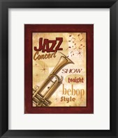 Framed New Orleans Jazz I