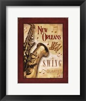 Framed New Orleans Jazz II