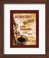 Framed New Orleans Jazz III