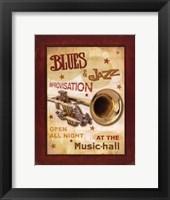New Orleans Jazz IV Framed Print