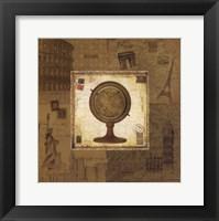 Framed Globe I