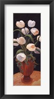 Framed Tulips by Night - mini