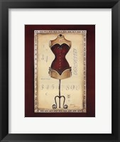 Framed Taille de Robe I - special