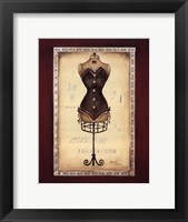 Framed Taille de Robe II - special