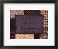 Soulmate Framed Print