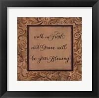 Framed Walk in Faith