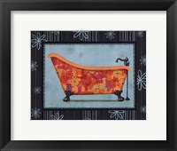 Retro Tub I Framed Print
