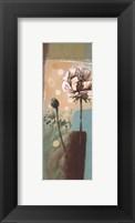 Framed Floral Splendor IV - petite