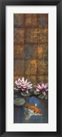 Framed Golden Koi I