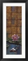 Golden Koi II Framed Print