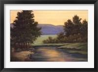 Framed Emerald Meadow I