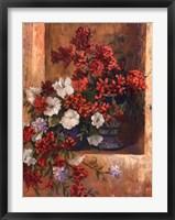 Framed Flores de Espaa I
