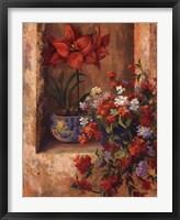 Framed Flores de Espaa II