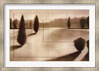 Framed Cyprus Eclipse II