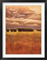 Framed Golden Fields I
