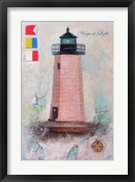 Framed Newport Light