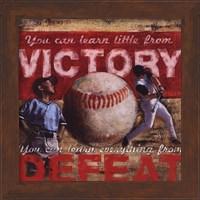 Framed Victory - Baseball