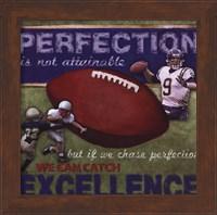 Framed Perfection - Football