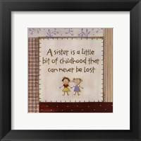 Framed Sister is