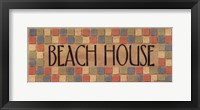 Framed Beach House