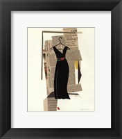 Fashion Pages II Framed Print