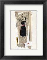 Fashion Pages IV Framed Print