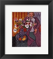 Framed Purple Robe and Anemones, 1937