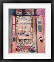 Framed Open Window, Collioure, 1905