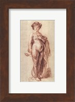 Framed Nude Woman with a Snake, c. 1637