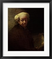 Framed Self-Portrait as Apostle Paul