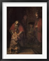 Framed Return of the Prodigal Son