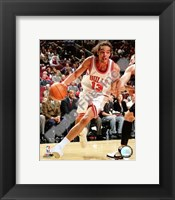 Framed Joakim Noah 2007-08 Action