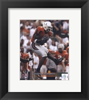 Framed Andre Johnson University of Miami Action