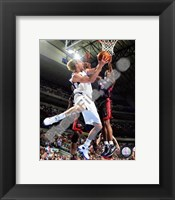Framed Dirk Nowitzki 2007-08 Action