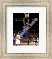 Framed Jamal Crawford 2007-08 Action Shot
