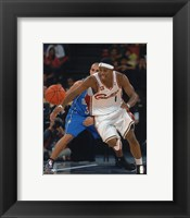 Framed Daniel Gibson 2007-08 Action