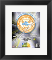 Framed Lady Volunteers, Tennessee - 2008 NCAA Final Four Women's Logo Photo