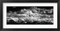 Framed Mt. McKinley Range (embossed)