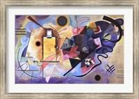 Framed Gelb, Rot, Blau, c.1925