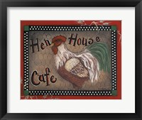 Framed Hen House Cafe