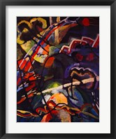 Composition Storm Framed Print